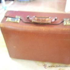 Vintage: MAGNIFICA MALETA DE PIEL CON COMBINACION. Lote 18384531