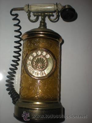 BOTELLA TELEFONO MUSICAL (Vintage - Decoración - Varios)