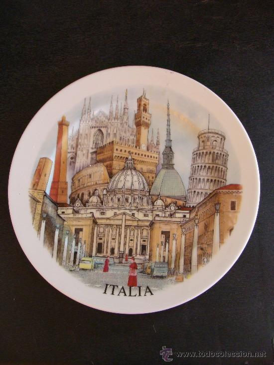 Gran plato de cer mica italia san pedro del v vendido - Ceramica san pedro ...