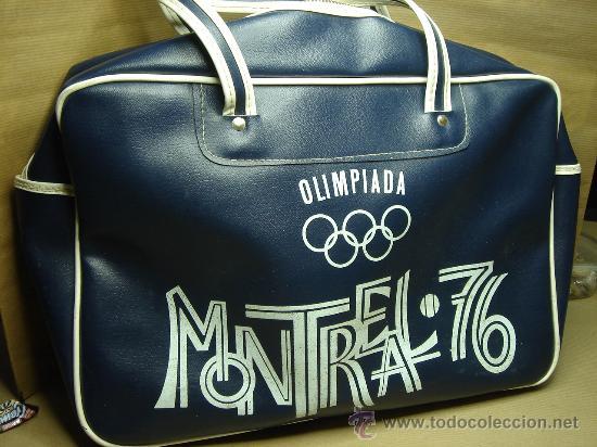 Elaborar saltar Para exponer  Antigua bolsa de deportes - olimpiada montreal - Vendido en Venta Directa -  24455476