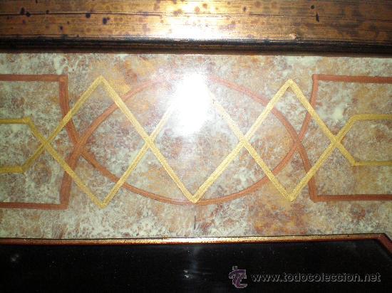 Vintage: espejo marmolizado - Foto 3 - 26922343