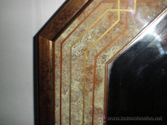 Vintage: espejo marmolizado - Foto 4 - 26922343