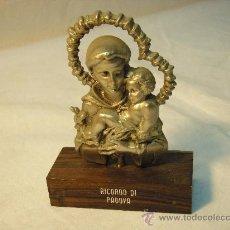 Vintage: RECUERDO DE SAN ANTONIO DE PADUA DE LOS AÑOS 60. Lote 28587205