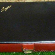 Vintage: CAJA JOYERO CON LLAVE SIMIL PIEL - AÑOS 70/80 (NUEVA A ESTRENAR 19,5 X 14 X 4,5 CMS.). Lote 29824437