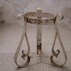 Vintage: .MACETERO EN FORJA. AÑOS 50. (MJ). Lote 29951427