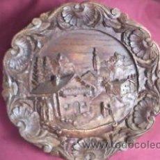Vintage: PLATO DE DECORACIÓN EN RESINA ,ORIGEN AUSTRIA.. Lote 30356413