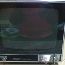 Vintage: ANTIGUA TELEVISION-SONY (SOLID STATE) TV-110 OUET.PORTATIL.DE COLECCION.. Lote 204349491
