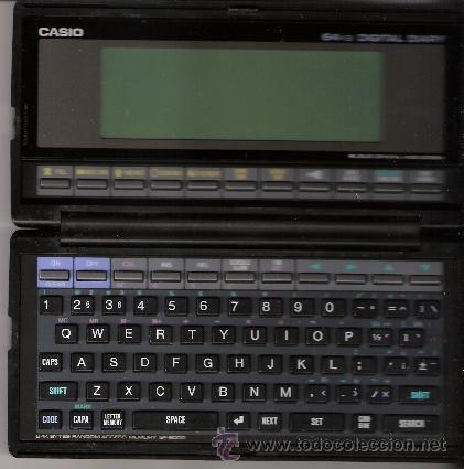 CASIO DIGITAL DIARY SF- 8000: 64KB.CON CAJA Y MANUAL EN ESPAÑOL. (Vintage - Varios)