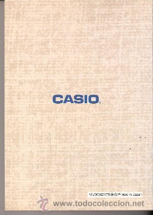Vintage: CASIO DIGITAL DIARY SF- 8000: 64KB.CON CAJA Y MANUAL EN ESPAÑOL. - Foto 8 - 31849328