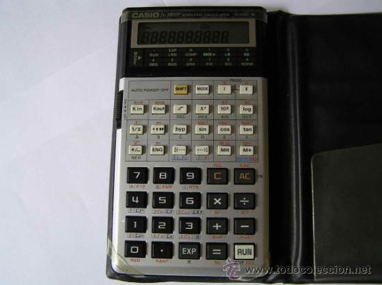 Vintage: CALCULADORA CASIO fx-3800P SCIENTIFIC CALCULATOR 10-DIGIT N CIENTIFICA PROGRAMABLE. - Foto 3 - 54643835