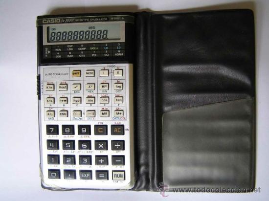 Vintage: CALCULADORA CASIO fx-3800P SCIENTIFIC CALCULATOR 10-DIGIT N CIENTIFICA PROGRAMABLE. - Foto 4 - 54643835