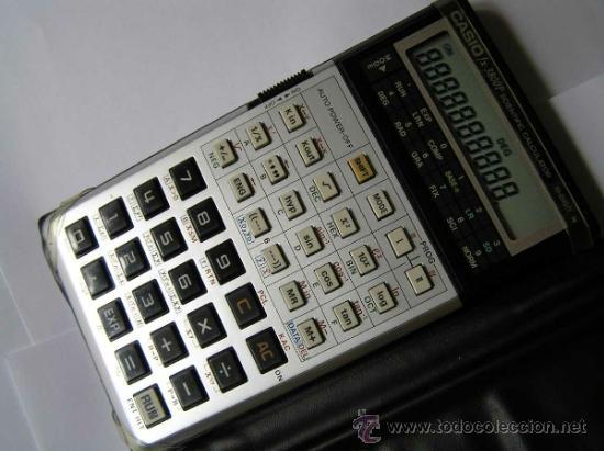 Vintage: CALCULADORA CASIO fx-3800P SCIENTIFIC CALCULATOR 10-DIGIT N CIENTIFICA PROGRAMABLE. - Foto 7 - 54643835