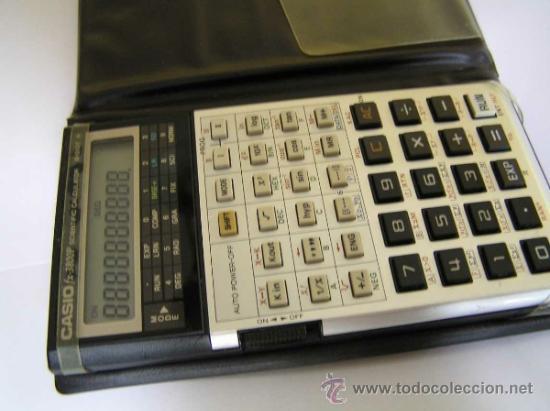 Vintage: CALCULADORA CASIO fx-3800P SCIENTIFIC CALCULATOR 10-DIGIT N CIENTIFICA PROGRAMABLE. - Foto 13 - 54643835