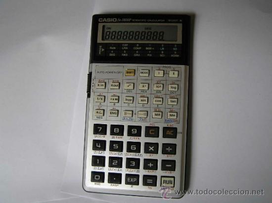 Vintage: CALCULADORA CASIO fx-3800P SCIENTIFIC CALCULATOR 10-DIGIT N CIENTIFICA PROGRAMABLE. - Foto 19 - 54643835
