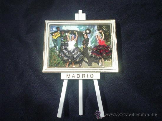 cuadro marco madrid bailarin postal bordada atr - Comprar en ...