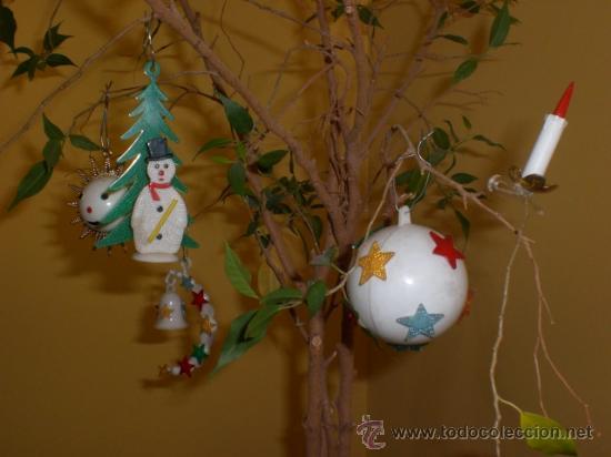 Lote 5 figuras para decorar arbol de navidad s comprar for Figuras de navidad para decorar