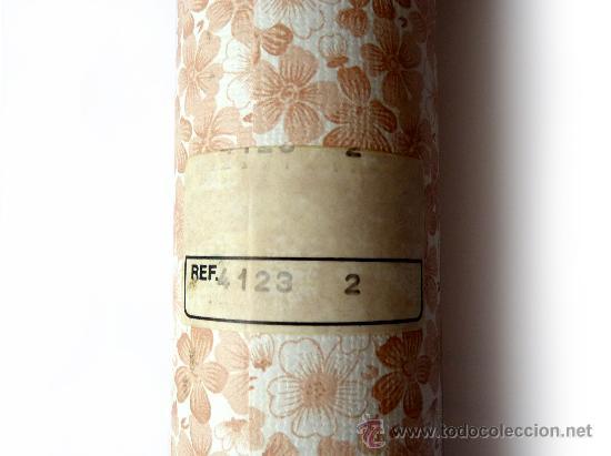 Papel pintado flores para empapelar paredes a o comprar for Zapatillas paredes anos 70