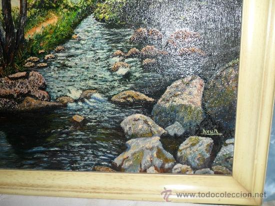 Vintage: PRECIOSO CUADRO PINTADO AL OLEO SOBRE TELA Y FIRMADO - Foto 2 - 32343662