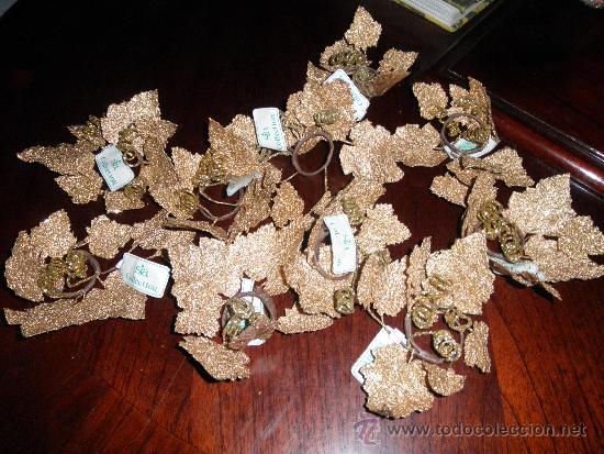 Lote de 10 adornos con forma de hoja dorada pa comprar for Sia decoracion