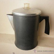 Vintage: CAFETERA VINTAGE DE ALUMINIO PARA FUEGO. Lote 32762388