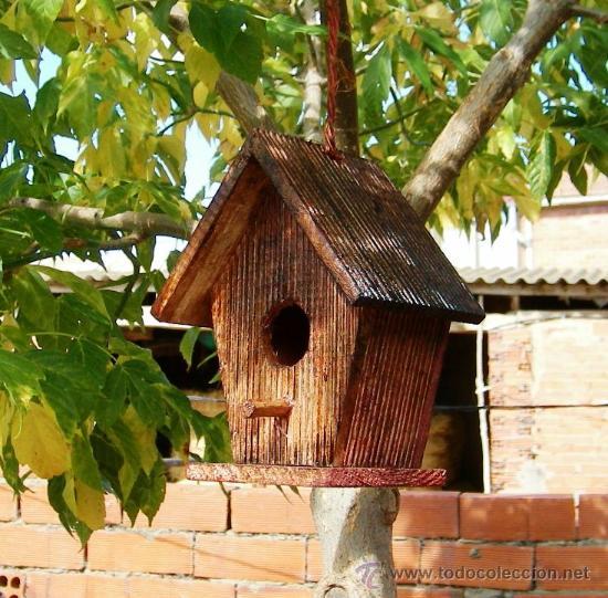 casita de madera pajaros pajarera jardin tej comprar