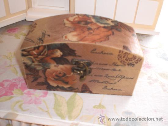 Preciosa Caja Con Decoracion Romantica Comprar En Todocoleccion - Decoracion-romantica-vintage