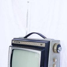 Vintage: TELEVISOR ANTIGUO VINTAGE SANYO MINI 9 IDEAL DECORACION VINTAGE. Lote 33641446
