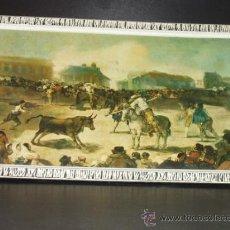 Vintage: CUADRO VINTAGE. ESCENA GOYESCA TAURINA. MARCO RETRO. GOYA. TOROS. COSTUMBRISTA. 1950-1960.. Lote 33134215