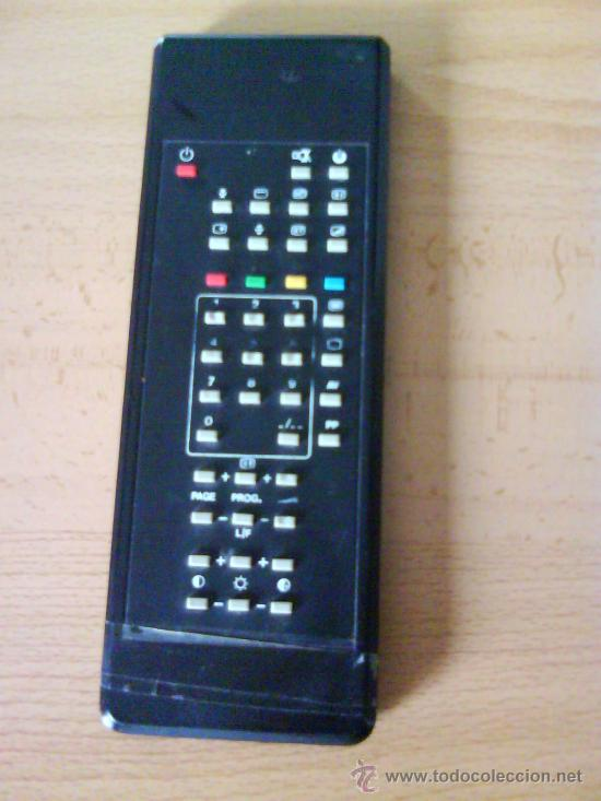 MANDO A DISTANCIA PARA TV COLOR ( FIRSTLINE - MOD:AV2192 TX ) AÑOS 80 . (Vintage - Varios)