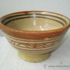 Vintage: ANTIGUO TAZON DE BARRO (). Lote 26807865
