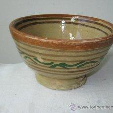 Vintage: ANTIGUO TAZON DE BARRO (). Lote 26836365