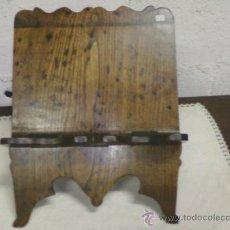 Vintage: ATRIL SOBREMESA PLEGABLE .CASTAÑO. Lote 34386457