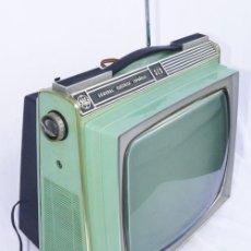 Vintage: TELEVISOR SPACE AGE GENERAL ELECTRICA ESPAÑOLA Y FUNCIONANDO TV. Lote 34416539