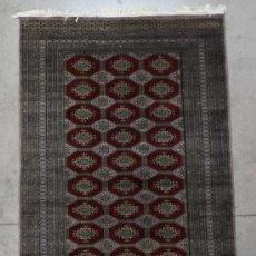 Vintage: ALFOMBRA MANUAL BUKHARA. AÑOS 80. . 1,55 X 2,70 M.. Lote 34464687