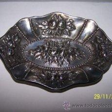 Vintage: BANDEJA ALPACA ANTIGUA. Lote 34606499