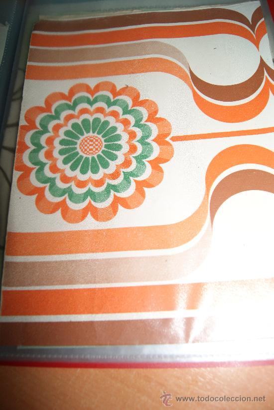 Rollo de papel pintado original de los a os 70 comprar en todocoleccion 49411933 - Papel pintado anos 60 ...