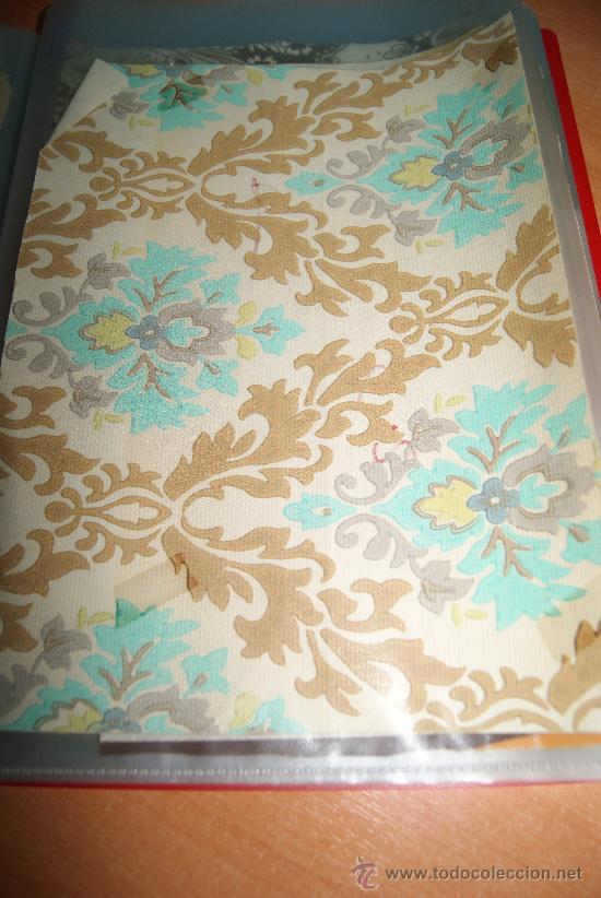 Rollo de papel pintado original de los a os 70 vendido en venta directa 33693031 - Papel pintado anos 60 ...