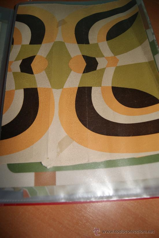 Rollo de papel pintado original de los a os 70 vendido en venta directa 33693031 Papel pintado anos 70