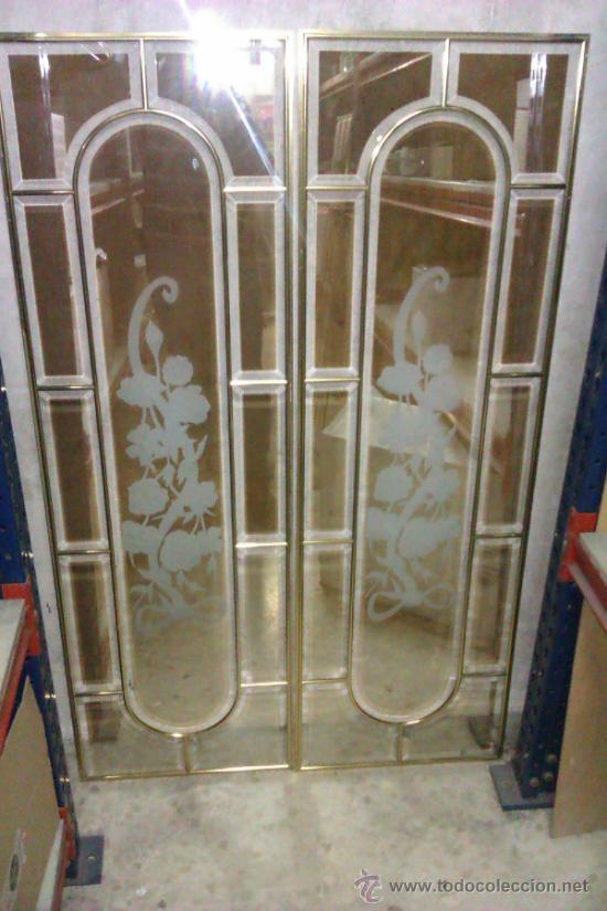 Juego de vidrieras para puerta interior de casa vendido for Restaurar puertas interior casa