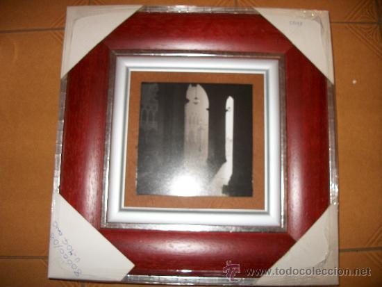 CUADRO DUO - FOTO EN BLANCO Y NEGRO DEL LONDON BRIDGE Y PLAZA - 33X33CM (Vintage - Decoración - Varios)