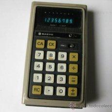 Vintage: CALCULADORA SANYO CX-8001. Lote 35332998