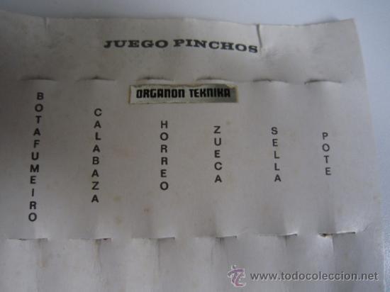 Vintage: JUEGO DE PINCHOS GALLEGOS. - Foto 5 - 35470044