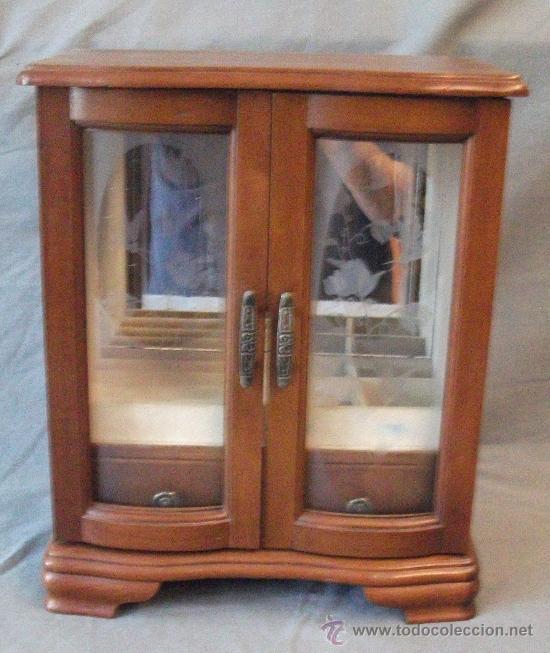 pequeño armario joyero mide 29x24x13 cm madera Comprar en todocoleccion 35641397