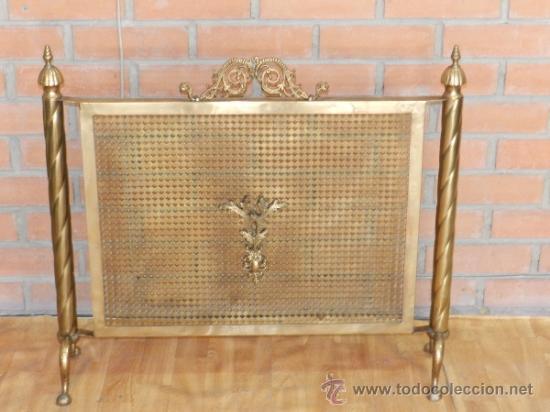 Bonito y buen cuidado protector pantalla ch comprar en todocoleccion 36146564 - Protector de chimenea ...