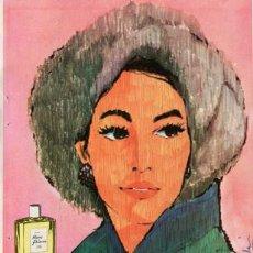 Vintage: PÁGINA PUBLICIDAD ORIGINAL *JABÓN Y COLONIA HENO DE PRAVIA DE GAL* - AÑO 1961. Lote 35814922