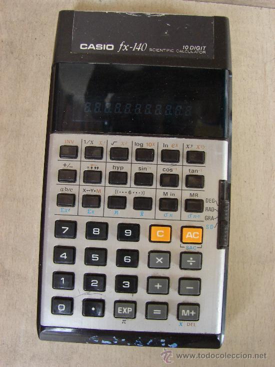 CALCULADORA CASIO FX-140 SCIENTIFIC CALCULATOR (Vintage - Varios)