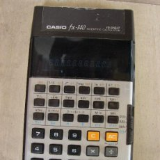 Vintage: CALCULADORA CASIO FX-140 SCIENTIFIC CALCULATOR. Lote 36245170