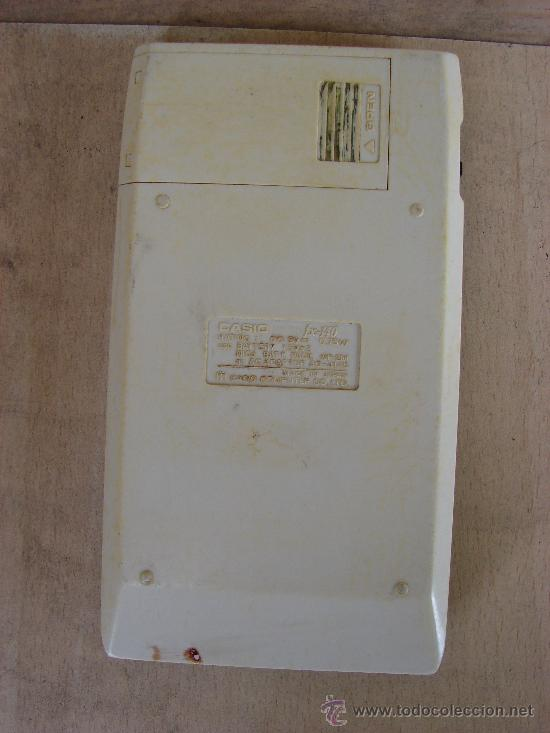 Vintage: CALCULADORA CASIO FX-140 SCIENTIFIC CALCULATOR - Foto 2 - 36245170