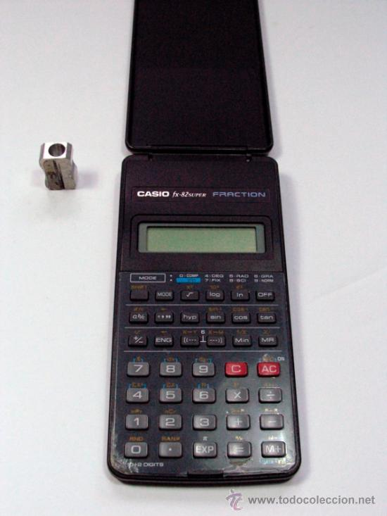 Vintage: ANTIGUA CALCULADORA CASIO FX-82 SUPER FRACTION FUNCIONA - Foto 3 - 36447850