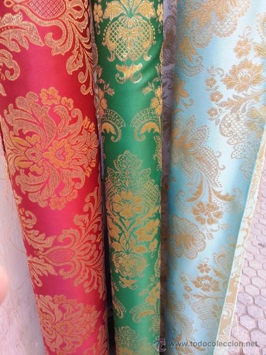 Brocados brocado para cortinas o vestimenta de comprar en todocoleccion 36777126 - Comprar tela cortinas ...